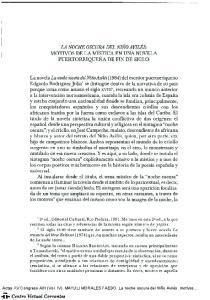 LA NOCHE OSCURA DEL NIÑO AVILÉS: