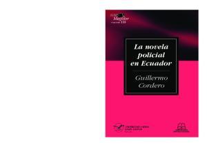 La novela policial en Ecuador
