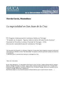 La nupcialidad en San Juan de la Cruz