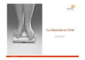 La Obesidad en Chile. Junio Synovate