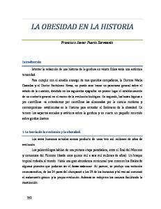 LA OBESIDAD EN LA HISTORIA