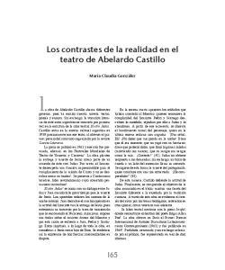 la obra de Abelardo Castillo abarca diferentes