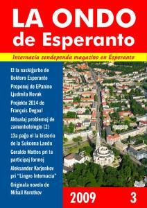 LA ONDO. de Esperanto. Internacia sendependa magazino en Esperanto