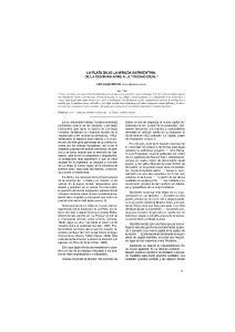 LA PLATA BAJO LA MIRADA SARMIENTINA: DE LA CENSURA ACRE A LA CIUDAD IDEAL