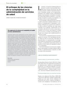 La práctica y la teoría de la administración de la