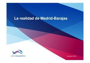 La realidad de Madrid-Barajas. Octubre 2013