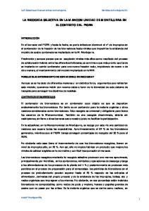 LA RECOGIDA SELECTIVA EN LA MANCOMUNIDAD DE MONTEJURRA EN EL CONTEXTO DEL PIGRN