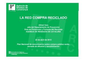 LA RED COMPRA RECICLADO