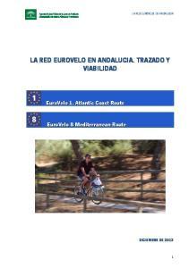 LA RED EUROVELO EN ANDALUCIA. TRAZADO Y