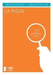 LA RIOJA. semestre 2015