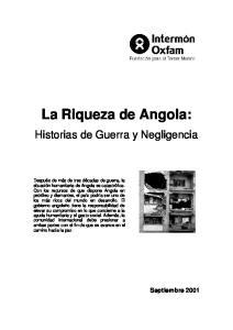 La Riqueza de Angola: