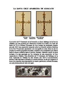 LA SANTA CRUZ APARECIDA DE ALBALATE