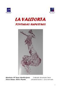 LA VALLTORTA PINTURAS RUPESTRES