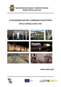 LA VIA ROMANA XIX DEL ITINERARIO DE ANTONINO EN EL CONCELLO DE LUGO