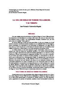 LA VIDA DE DIEGO DE TORRES VILLARROEL Y SU TIEMPO