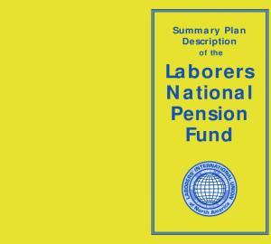 Laborers National Pension Fund