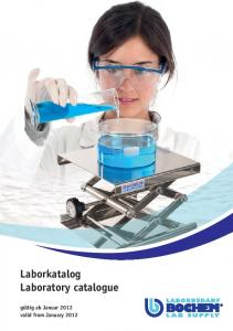 Laborkatalog Laboratory catalogue