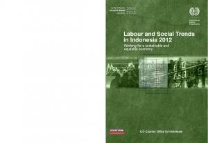 Labour and Social Trends in Indonesia 2012