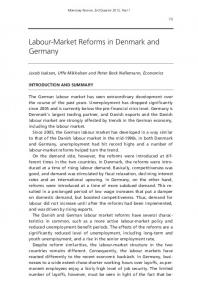 Labour-Market Reforms in Denmark and Germany