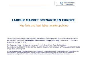 LABOUR MARKET SCENARIO IN EUROPE