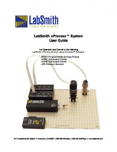 LabSmith uprocess System User Guide