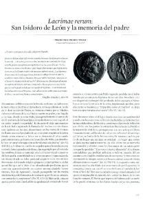 Lacrimae rerum: San Isidoro de Le6n y la memoria del padre