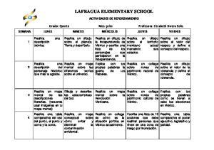LAFRAGUA ELEMENTARY SCHOOL