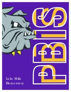 Lake Mills Elementary PBIS