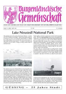 Lake Neusiedl National Park