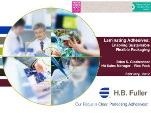 Laminating Adhesives: Enabling Sustainable Flexible Packaging