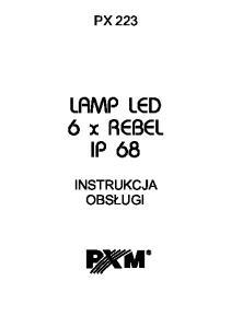 LAMP LED 6 x REBEL IP 68
