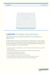 LANCOM LN-830acn dual Wireless