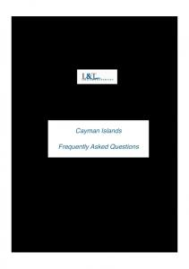 LAND OPTIONS IN THE CAYMAN ISLANDS