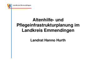 Landkreis Emmendingen. Altenhilfe- und