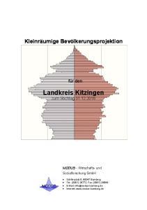 Landkreis Kitzingen zum Stichtag