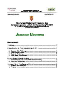 Landkreis Uckermark Stand