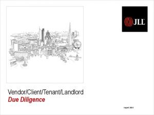 Landlord Due Diligence