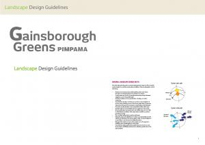 Landscape Design Guidelines