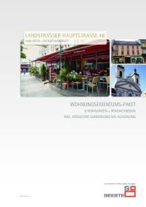 LandstraSSer hauptstrasse Wien - am rochusmarkt