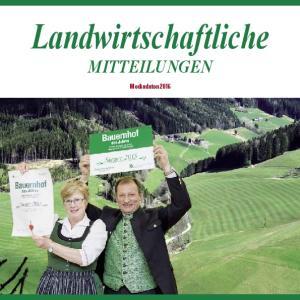 Landwirtschaftliche Mitteilungen. Mediadaten 2016