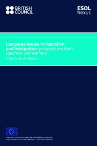 Language issues in migration and integration: perspectives from teachers and learners