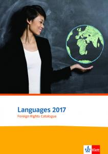 Languages Foreign Rights Catalogue