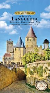 Languedoc SAVINGS. September 29 to October 7, in France s EARLY BOOKING S AV E $ 600 PE R C O U P L E!