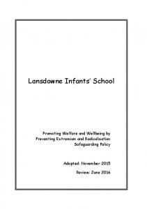 Lansdowne Infants School