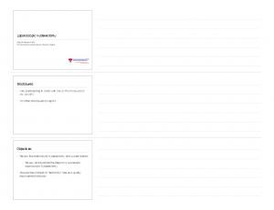 Laparoscopic Hysterectomy. Disclosures. Objectives. I am participating in a trial with Inovio Pharmaceuticals Inc. on HPV