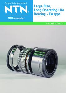 Large Size, Long Operating Life Bearing - EA type