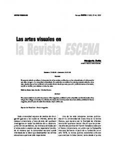Las artes visuales en
