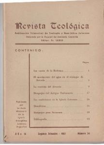 Las confesiones de la Iglesia Luterana