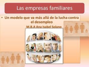 Las empresas familiares