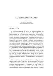 LAS ESTRELLAS DE MADRID